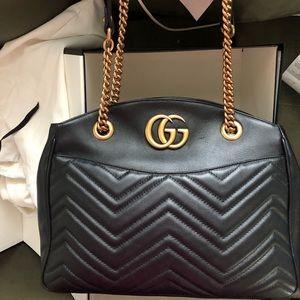 Gucci Matelasse GG Marmont Tote Bag